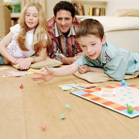 Top 10 games to play with parents at home